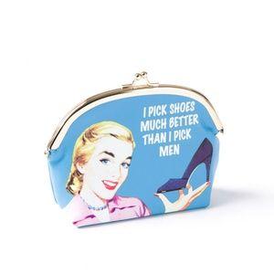 Retro humor coin purse